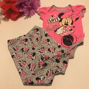 Disney Baby 6/9 Month 2 Piece Set